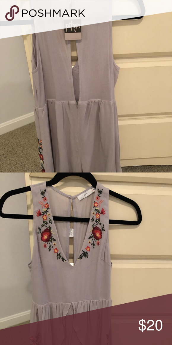 d740130627 Pitaya sleeveless romper Brand new with tag Originally it was missing a  button on the back
