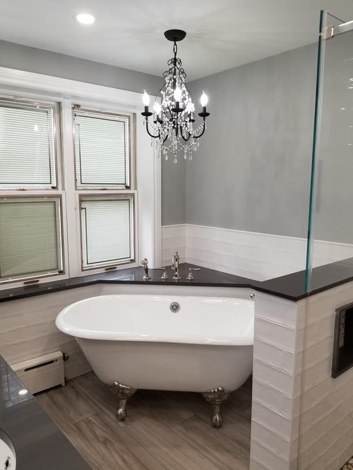 Sink Kohler Mirrors Custom Cabinets Fabuwood Faucets Fuxtures