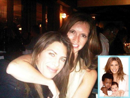 Jillian Michaels and her partner Heidi Rhoades have welcomed not one, but two new babies to their home - 2-year-old daughter Lukensia and newborn son Phoenix.