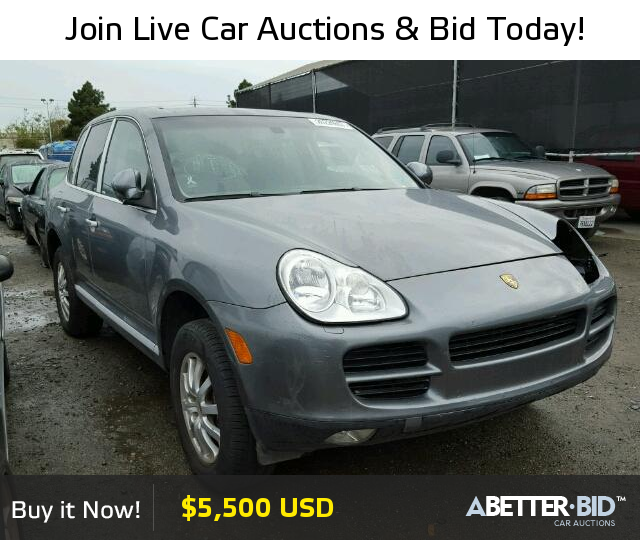 Salvage 2006 PORSCHE CAYENNE For Sale