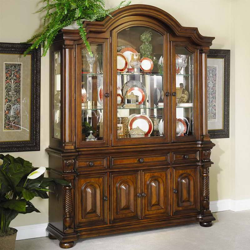 China Cabinets For Less With Ornamental Plants