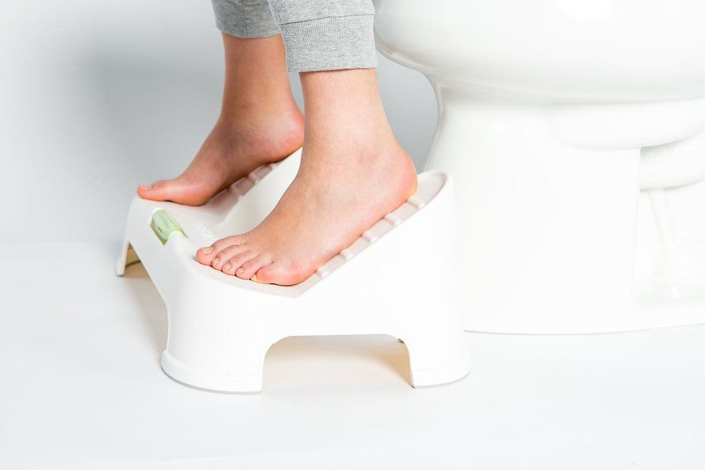 Easy Squatting With Turbo Toilet Footstool Stool