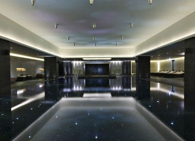 Indoor Pool Lined With Swarovski Crystal At The Ritz Carlton Scourt County Wicklow