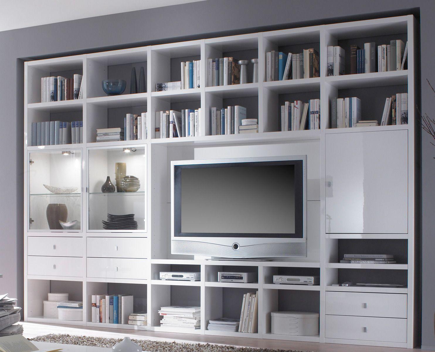bücherregal wohnwand - Google-Suche  home  Pinterest  Room
