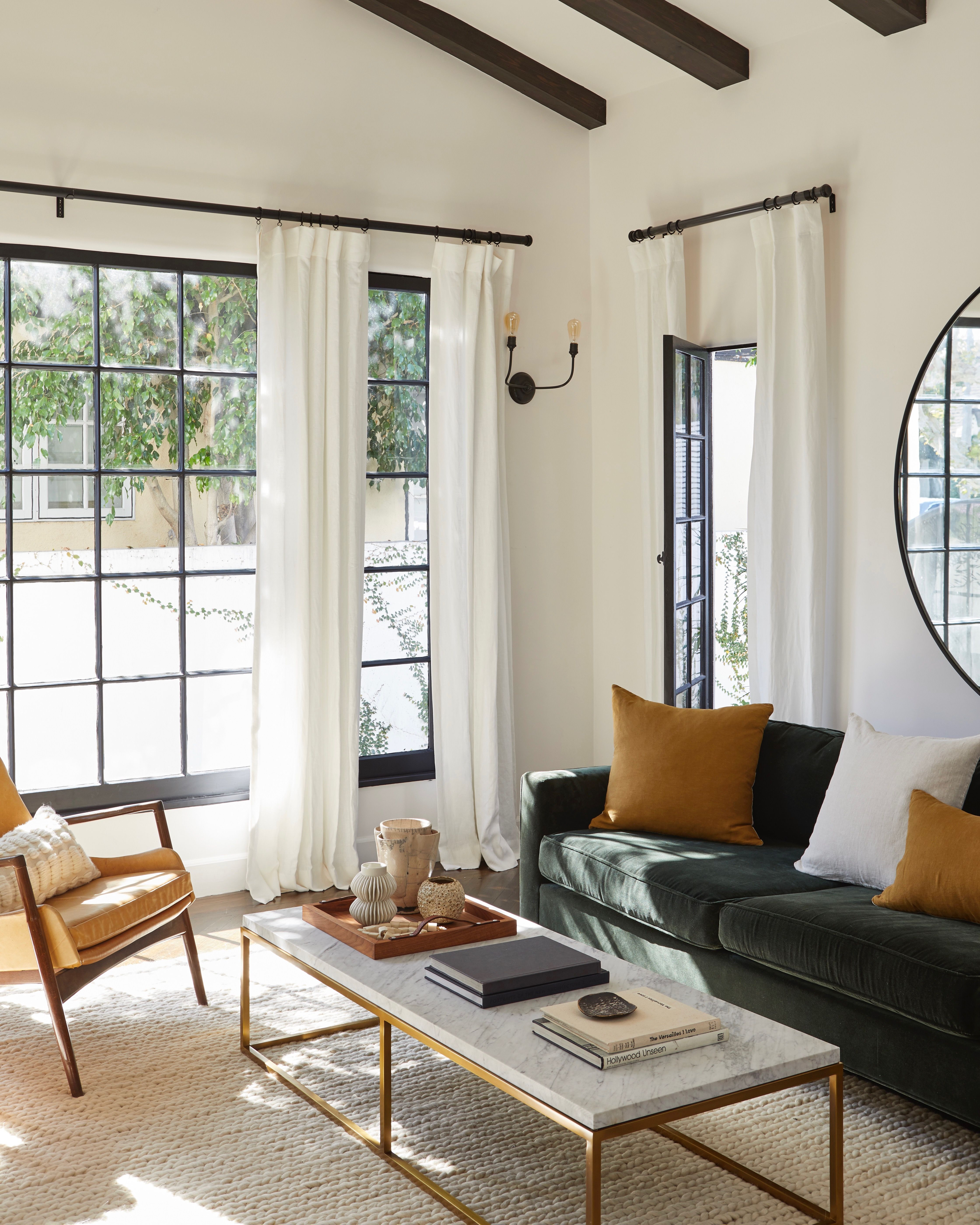 Braided Wool Rug Parachute Farm House Living Room Home Living Room Modern Boho Living Room #wool #rugs #for #living #room