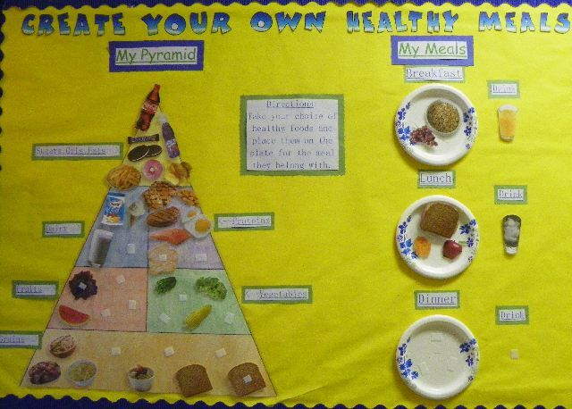 Create your own healthy meals image let 39 s get physical for Design your own cork board