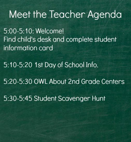 Master Meet the Teacher and Back to School in 5 Easy Steps