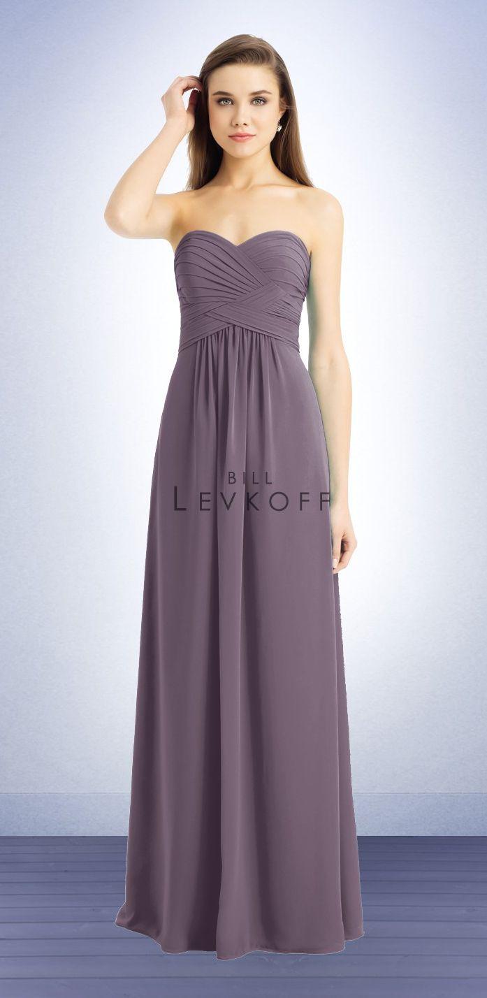 Bill Levkoff 741, chiffon, victorian lilac, http://www.billlevkoff ...