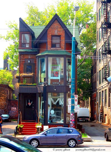 House Shop On Spadina Toronto Architecture Toronto Ontario Toronto Ontario Canada