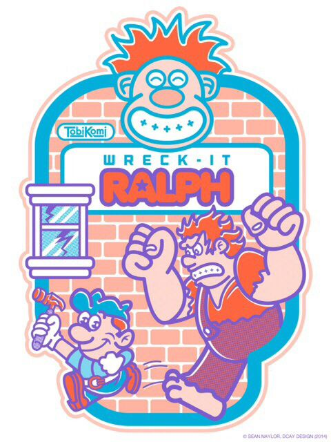 Wreck it ralph classic arcade fan art  994077824e5