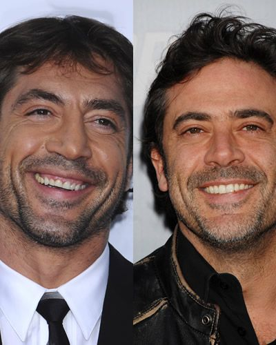 Javier Bardem and Jeffry Dean Morgan   The type of men a like     Javier Bardem and Jeffry Dean Morgan