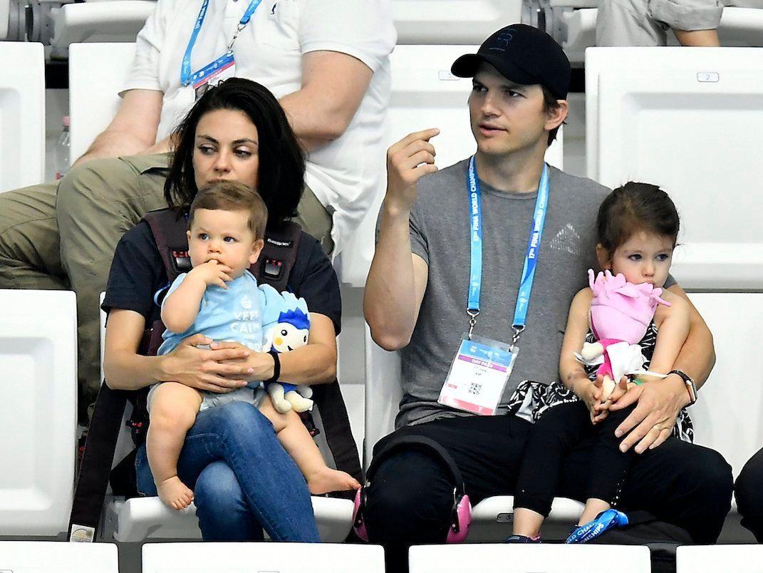 Ashton Kutcher And Mila Kunis Aren T Leaving Their Kids Any Money