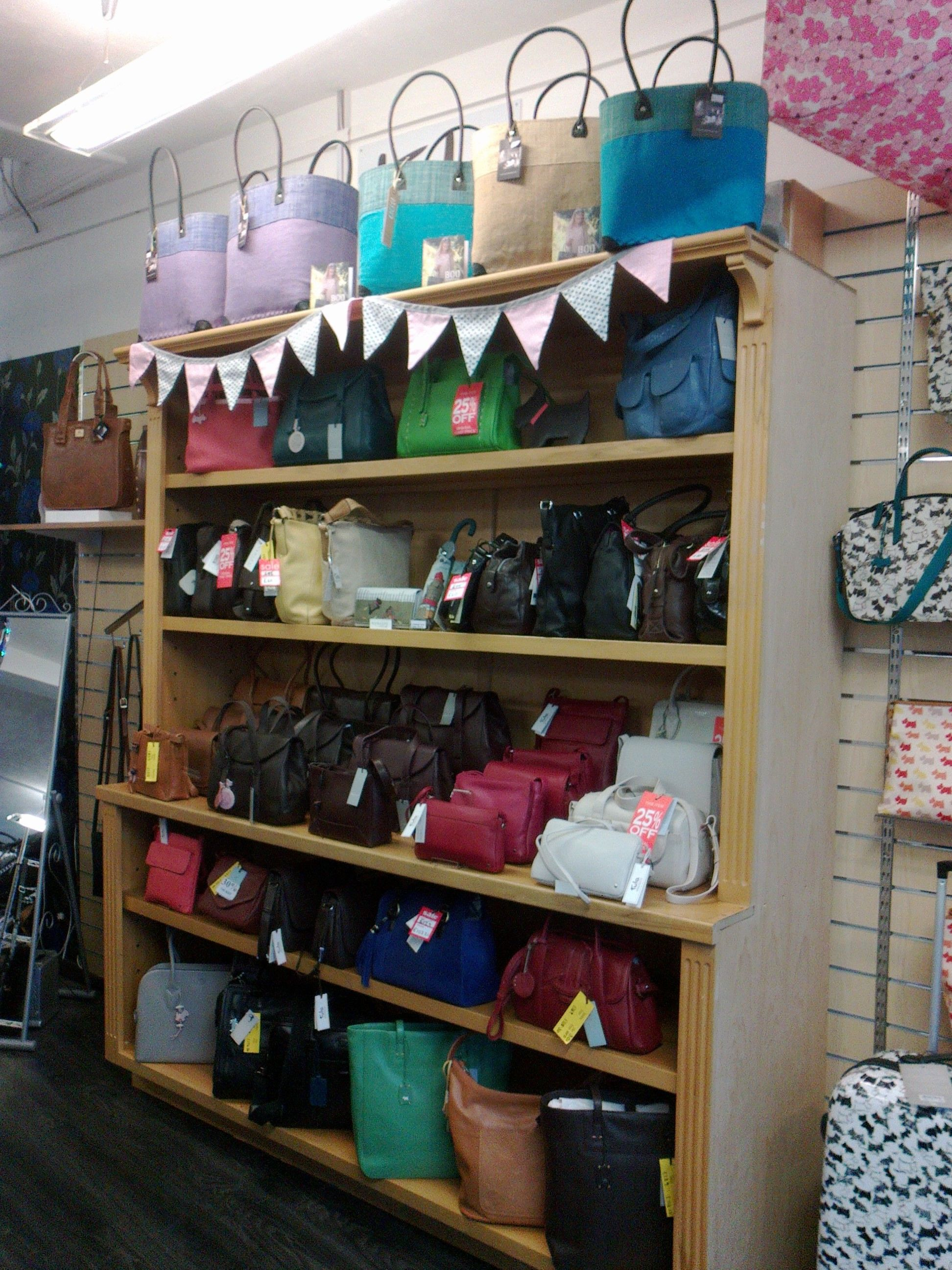 Our New Display Unit Ready For Spring http://www.luggage-case.co ...