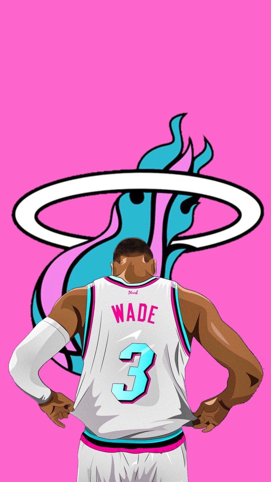 D Wade Miami Heat Wallpaper Basketball Nba Wallpapers Basketball Wallpaper Nba Pictures
