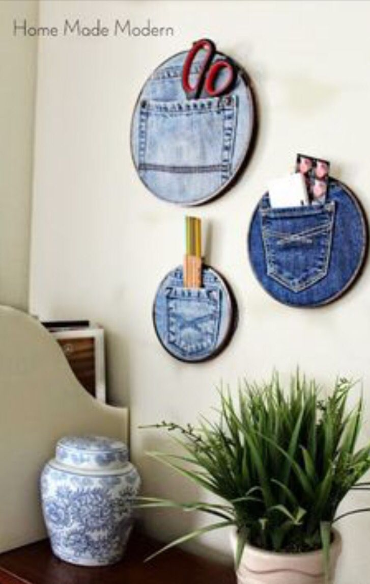 What to do with your old jeans!! | diy jeans | Pinterest | Craft ...