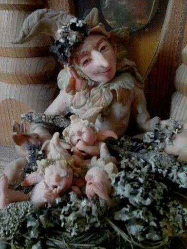 Garden Fairy.....keeper of infants  by Shelley Potter