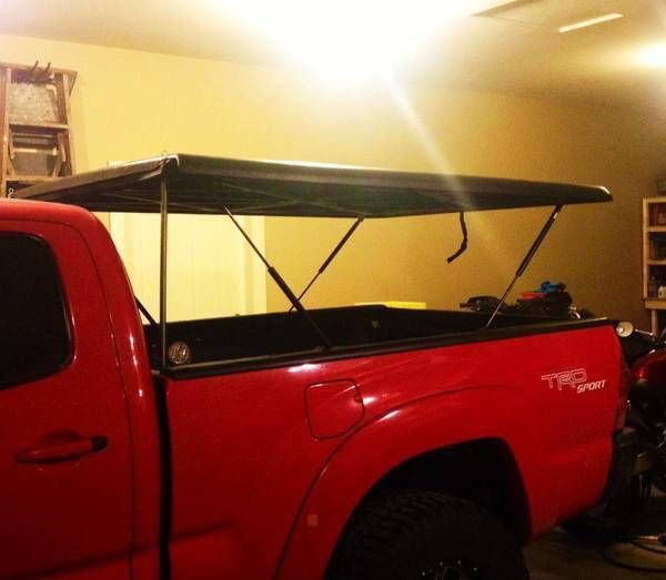 Undercover tonneau pop up tent build & IMG] | Truck camping ideas | Pinterest | Undercover tonneau Tents ...