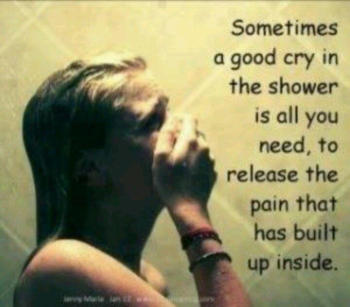 Tears help