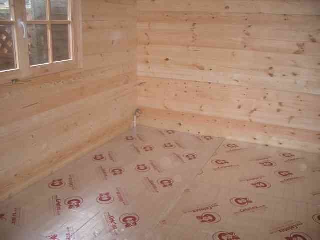 Log Cabin Insulation Insulate Garden Office Roof Wall And Floor