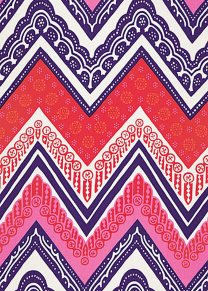 Tangier frame print cerise modern wallpaper by f schumacher co idea variation on chevron for window screen