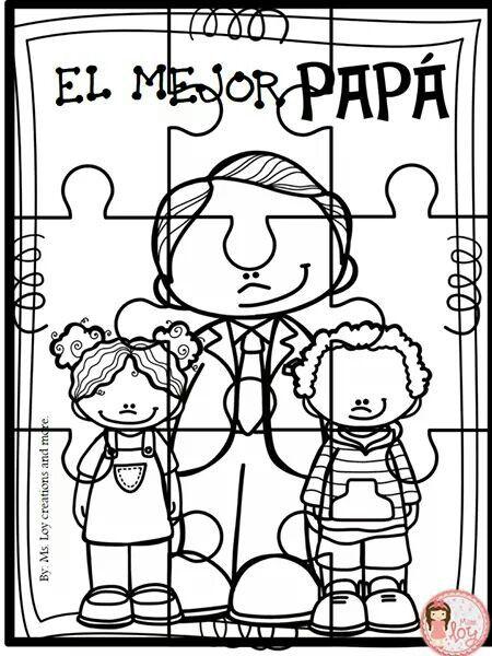 Pin De Gabriela Rivera En Dibujos Para Colorear Dia Del Papa