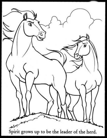 Spirit Stallion Color  Spirit Stallion The Cimarron Coloring