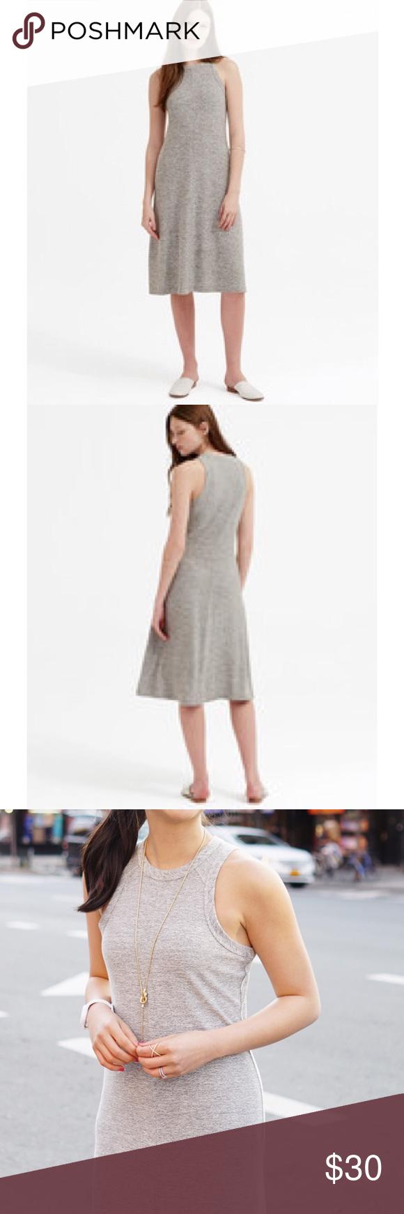 Lou Grey Slinky Racerback Midi Dress Racerback Midi Dress Fashion Clothes Design [ 1740 x 580 Pixel ]