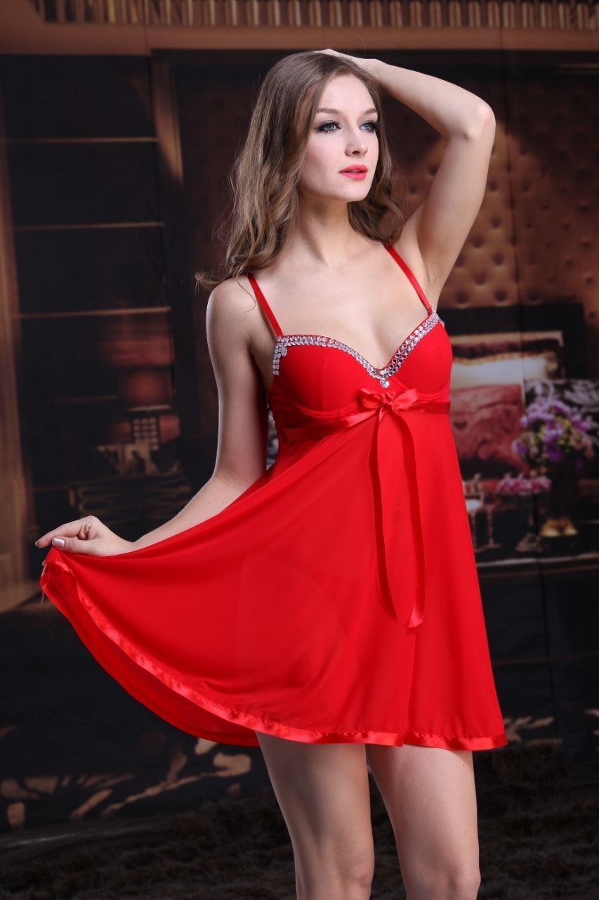 9c46e7c205 Hot Sexy Women Ladies Girls Lace Robe Sleepwear Lingerie Nightdress G-string  Gift Dress