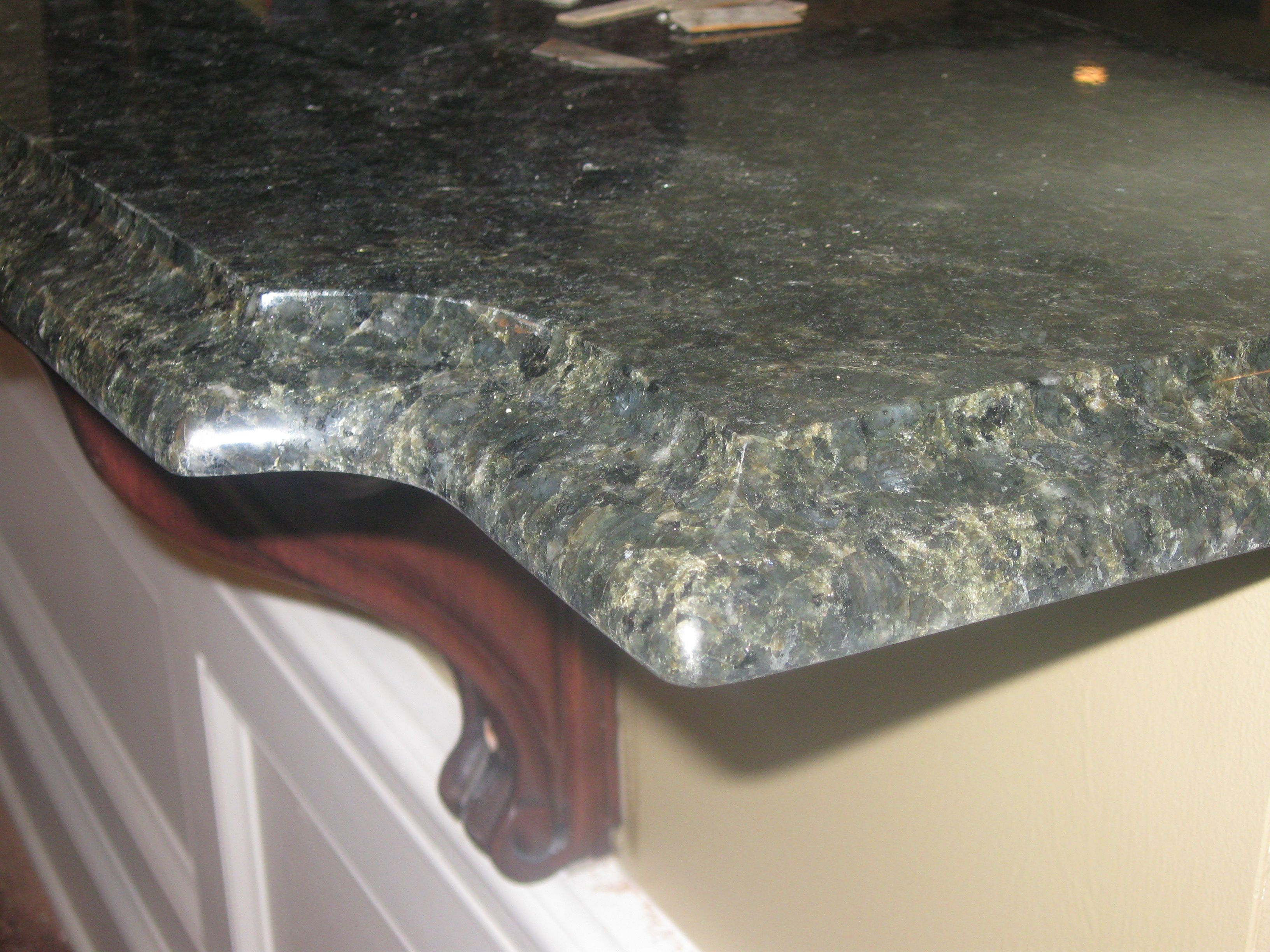 Superior Check Out The Beautiful Ogee Edge On The Granite Countertops From Vallaru0027s  Tile And Marble In