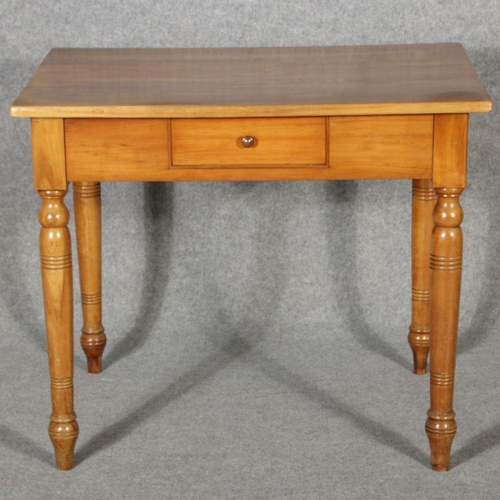 Kirschbaum Tisch Schreibtisch Um 1900 Kuche Tisch Tisch Kuchentisch