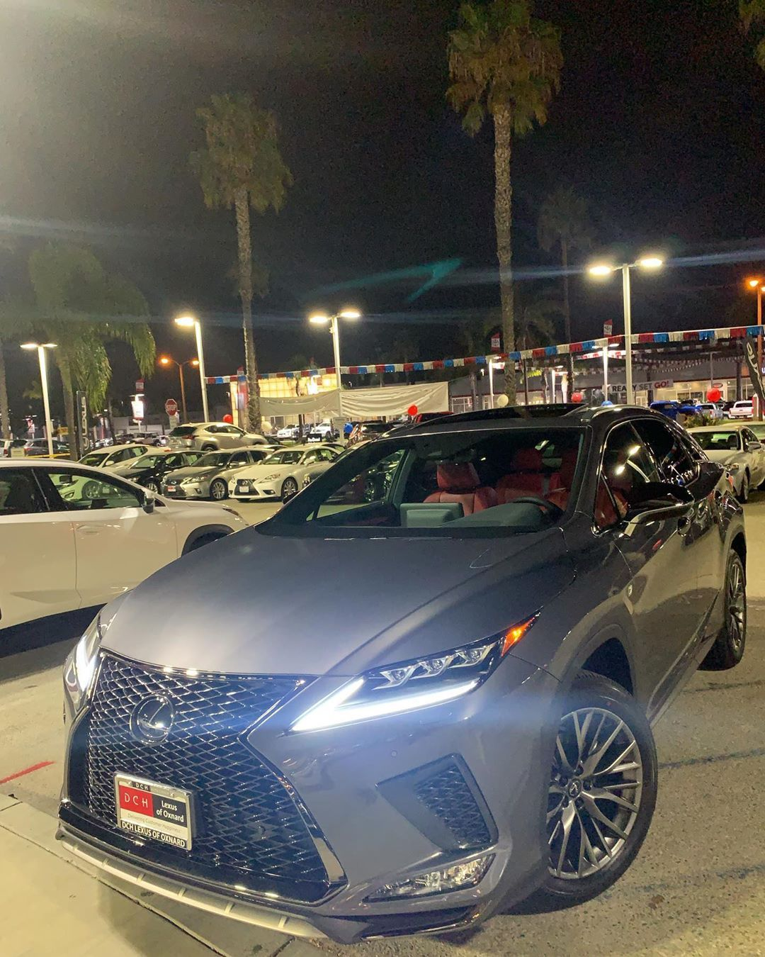 Welcome To The Lexus Family Veronica Congratulations On Your Stunning 2020 Lexus Rx350 Fsport With The Red Interio Lexus Lexus Rx 350 Dream Cars