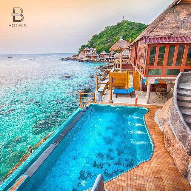 Koh tao thailand hotel koh tao bamboo huts credits for Koh tao cabana koi pool villa