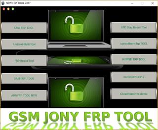 Download GSM Jony FRP Removal Tool 2017 | TECH UPDATES | Box