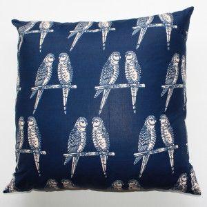 Blue Parrot -Over-sized cushion Maker & Merchant, Brisbane