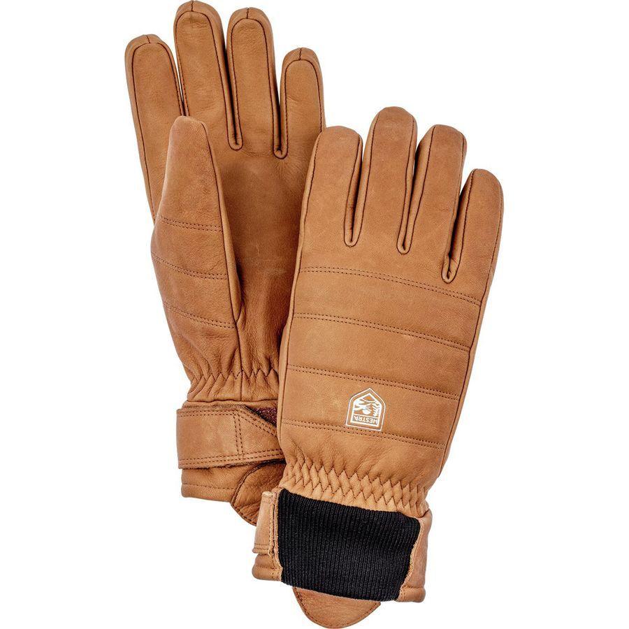 Mens and Womens Alpine Primaloft Cold Weather Winter Gloves Hestra Leather Ski Gloves