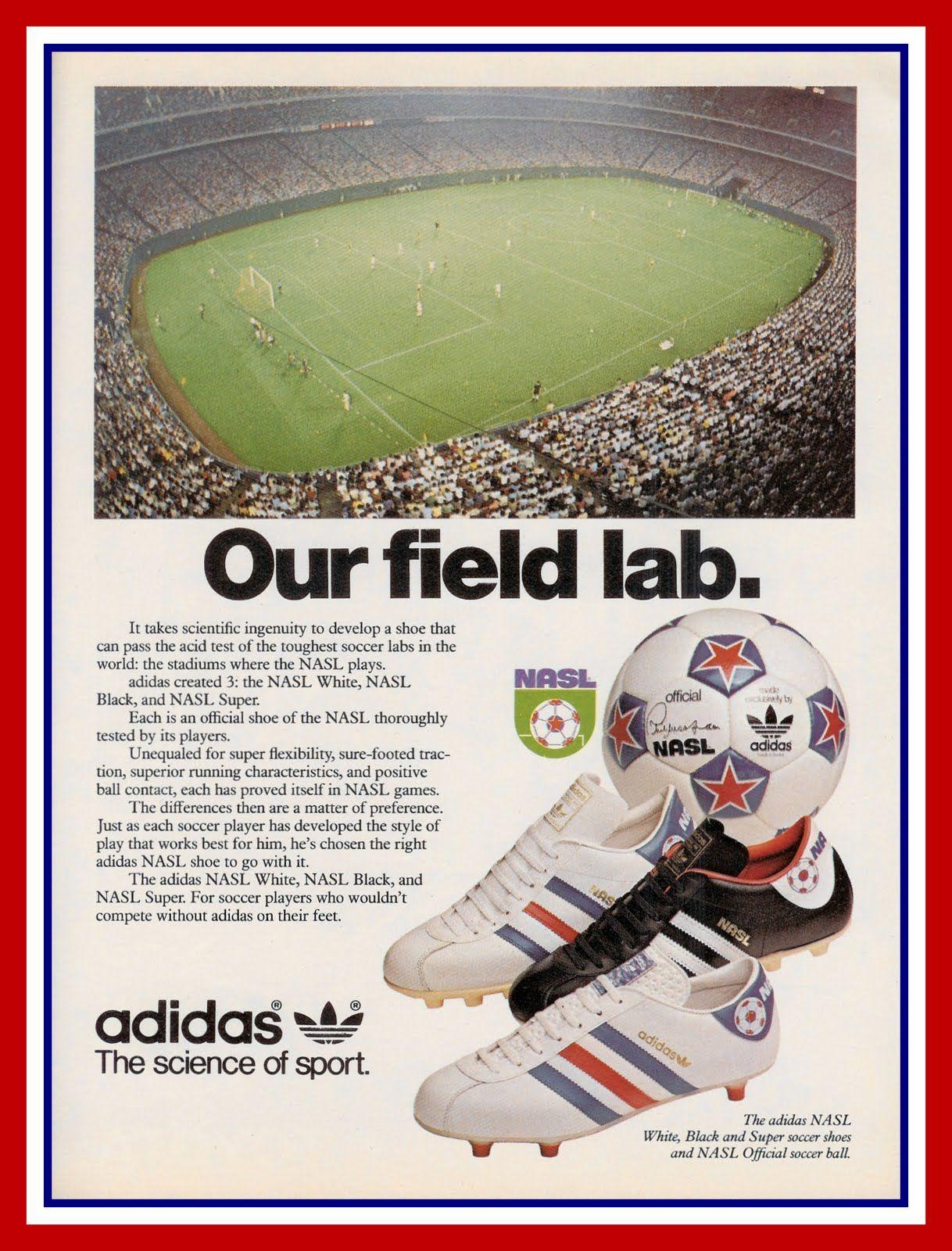 Our Field Lab   Adidas football, Vintage adidas, Sports brands