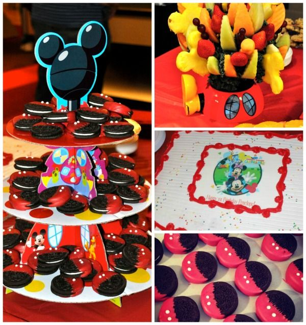 Penelope Janes Mickey Mouse Clubhouse 1st Birthday Party Mickey