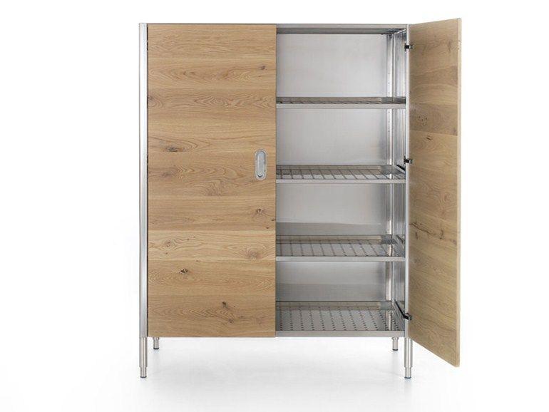 LIBERI IN CUCINA Küchenschrank mit Flügeltüren by ALPES-INOX Design ...