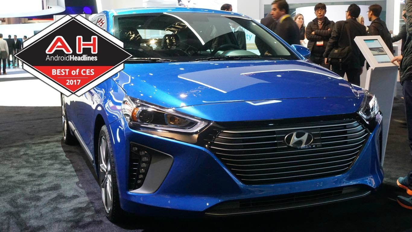 Best connected car of ces 2017 hyundai blue link with