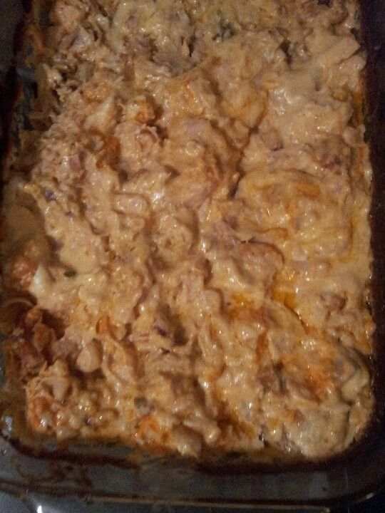 3 chicken breast cut up, 1.5 cups off low