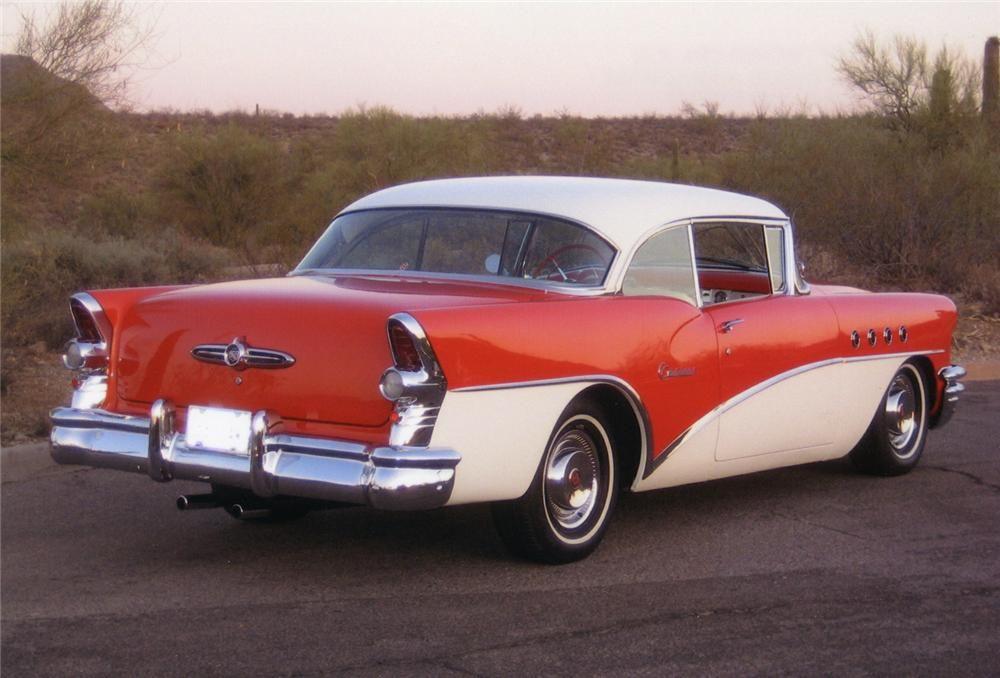 1955 buick century custom 2 door hardtop 1955 chevrolet for 1955 buick century 4 door hardtop