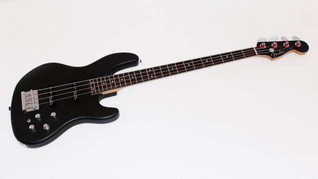Fender Jazz Bass 24 Electric Bass Guitar - Flat Black | Reverb