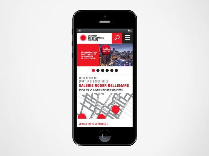 Quartier des spectacles | Campagne intégrée / Integrated Campaign | Interactif / Interactive | lg2boutique