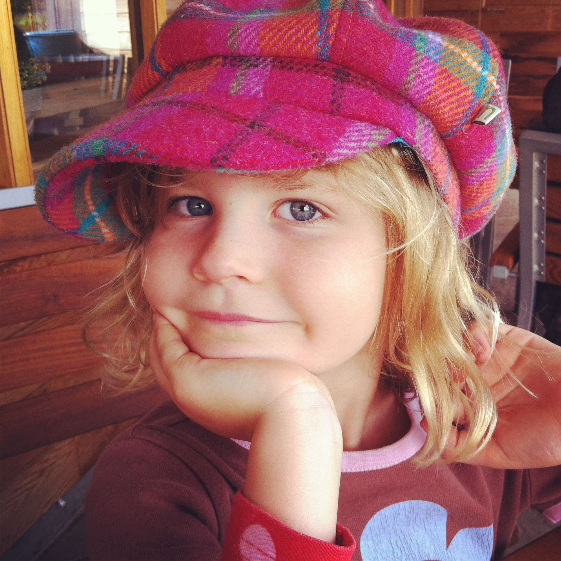 gorgeous Baker Boy hat by Ness for big and little girls alike ... 97b1ac4b201