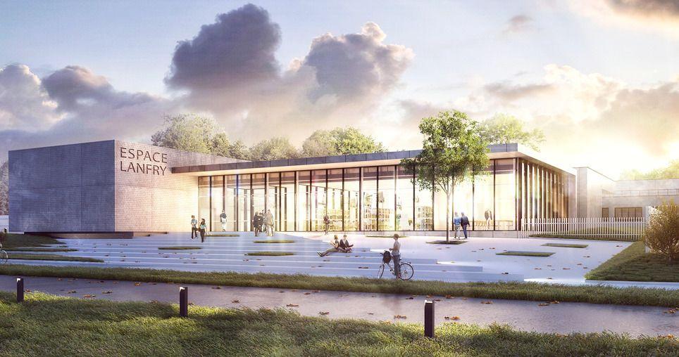 Rouen un cfa 2 0 vitrine des métiers du bâtiment sur un total de plus de 7 000 m³ de bétons fournis par cemex france 1 200 m³ de bétons