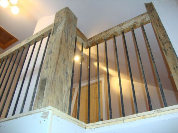 Best Newel Barn Beam Posts For Your Stairs And Railing 400 x 300
