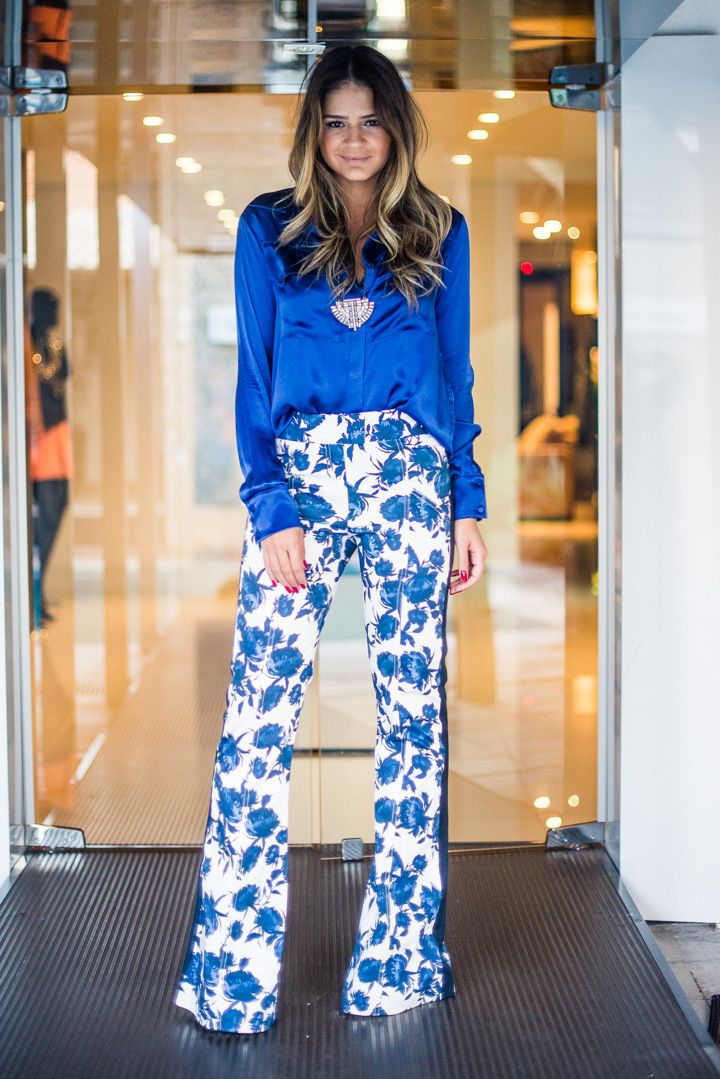 a1c689fbc Calça, camisa e colar – Talie NK | looks sociais | Fashion, Jeans ...