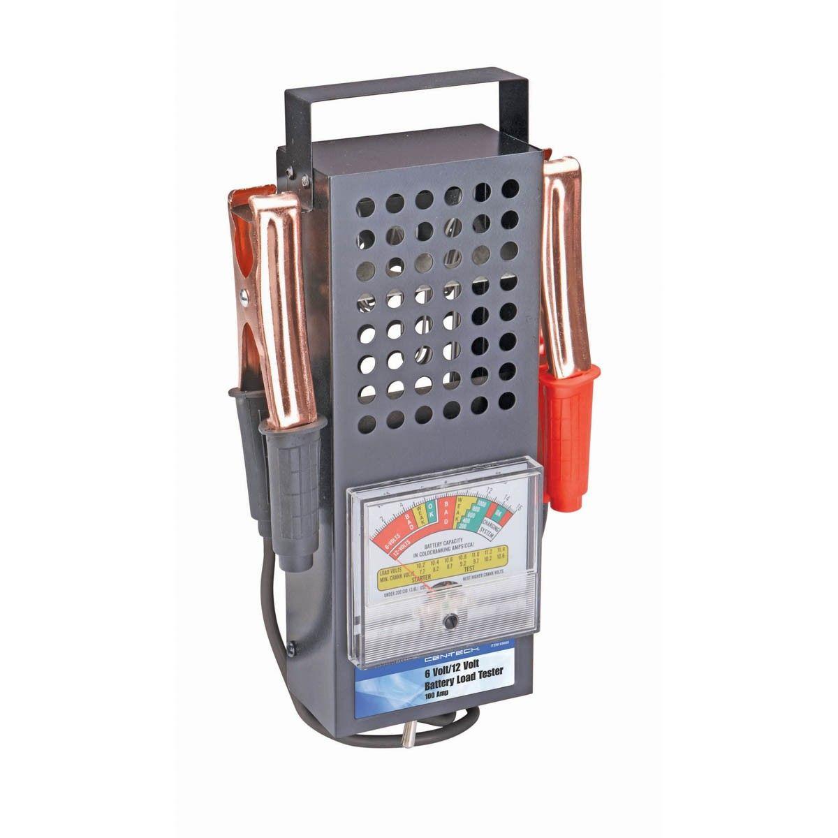 Motorcycle Battery Load Tester : Amp volt battery load tester flhrci