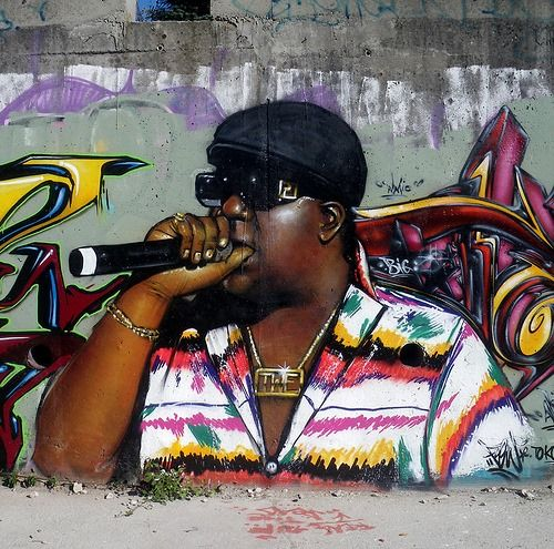 New biggie mural set for brooklyn can i kick it pinterest for Eminem wall mural