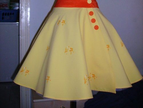 How to hem a circle skirt